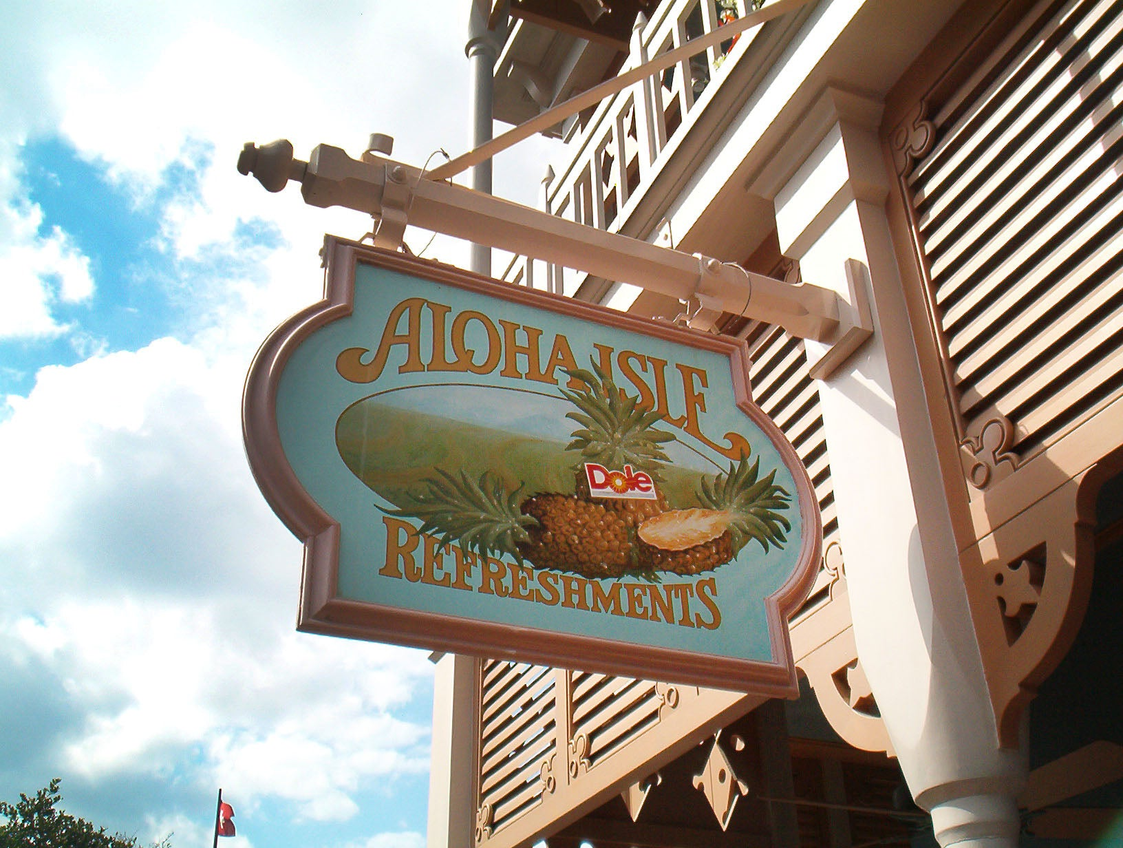 Aloha Isle Magic Kingdom