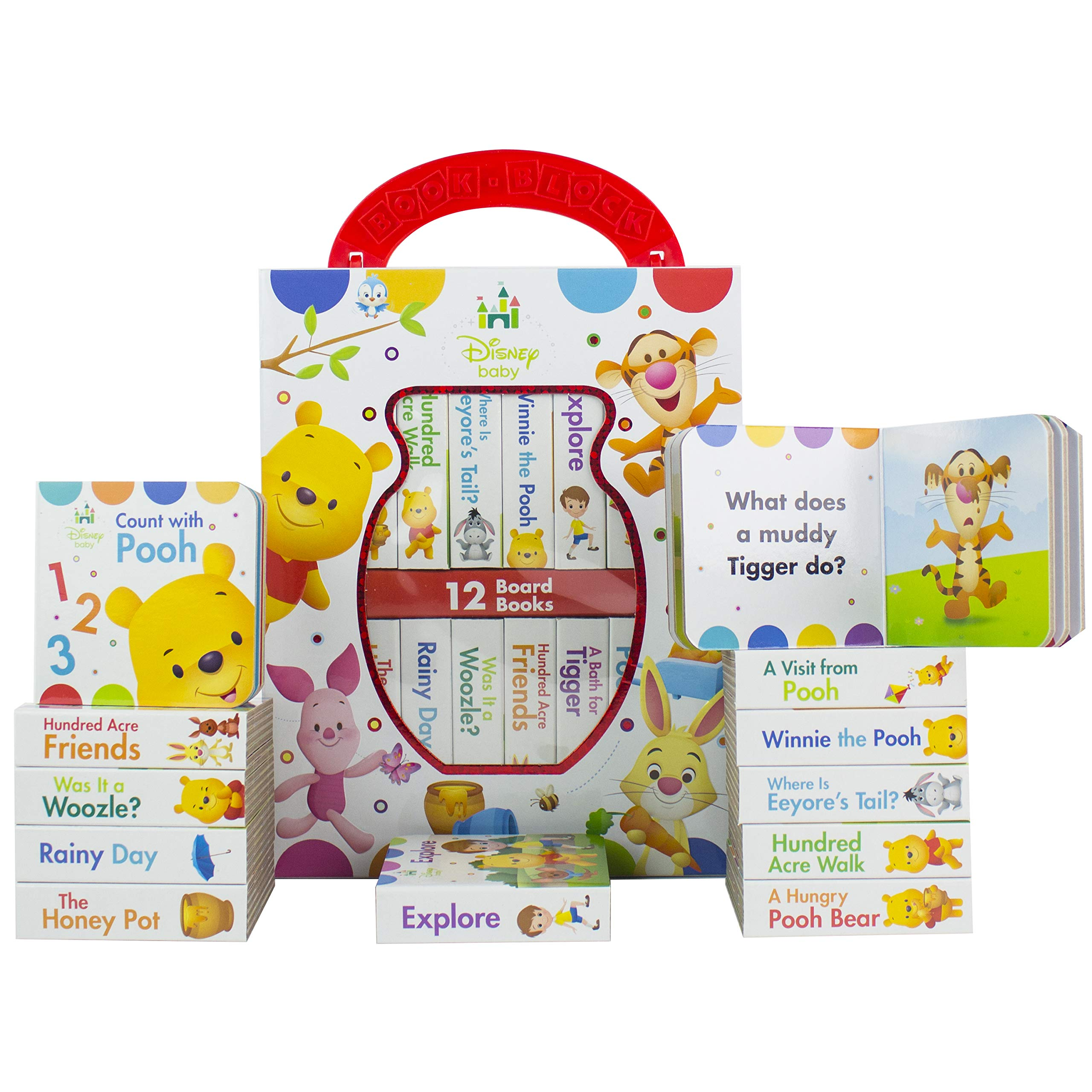 Winnie the Pooh Baby Board Book Set
