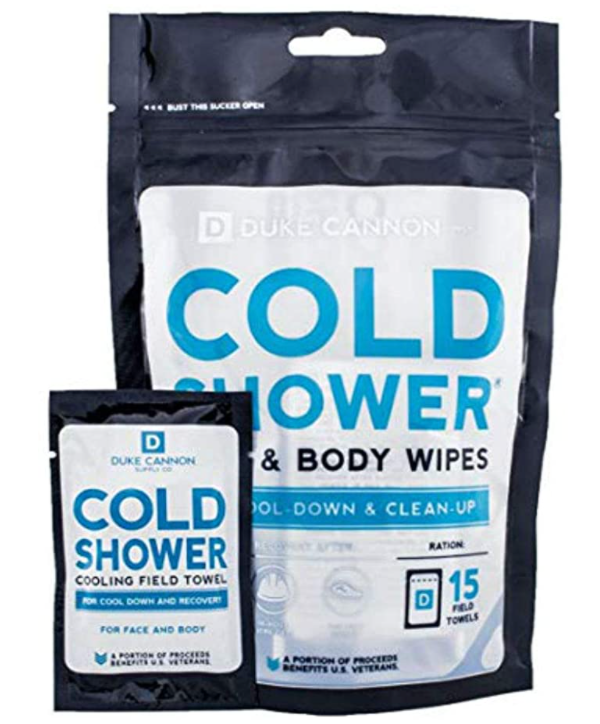 cooling wipes