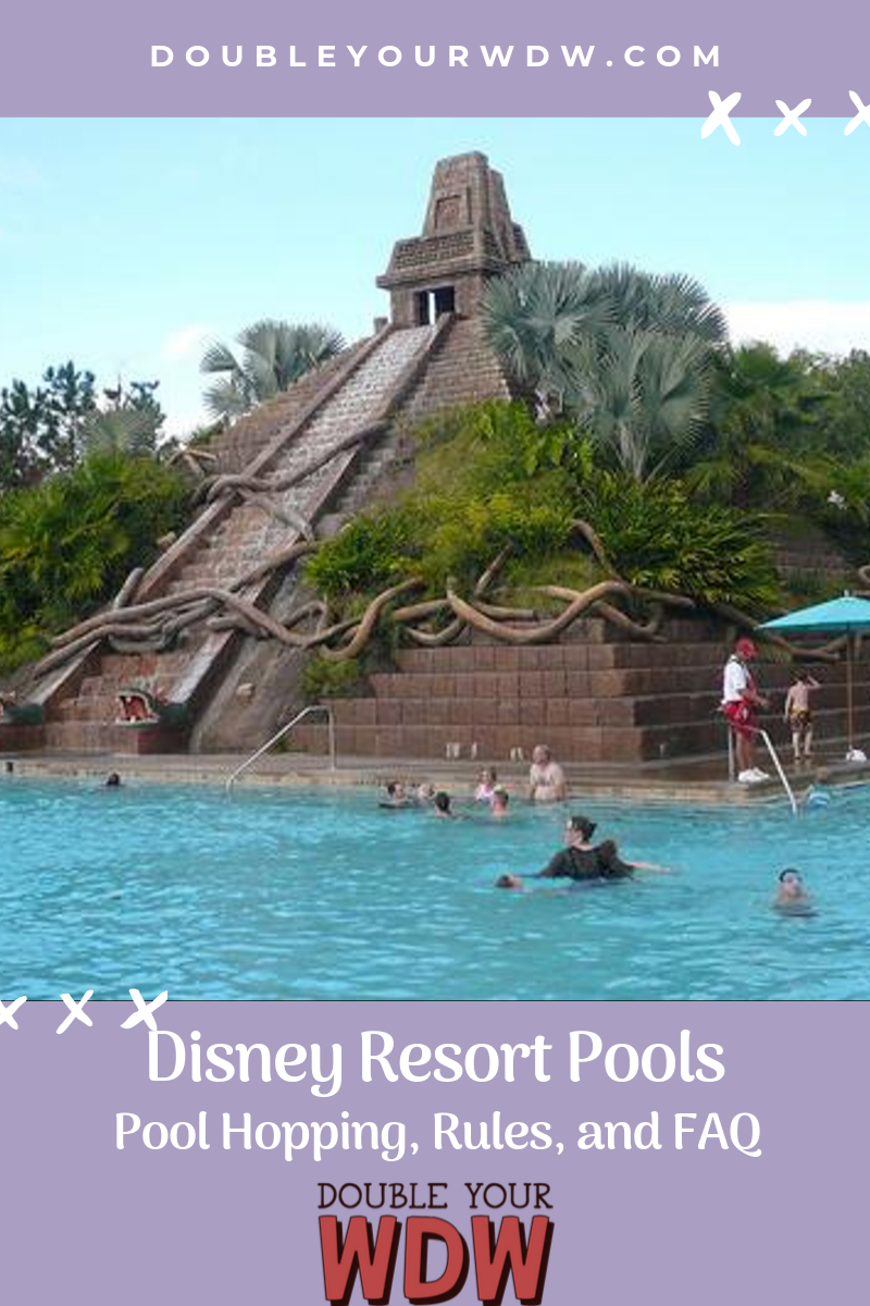 Disney Pool Hopping rules and FAQ