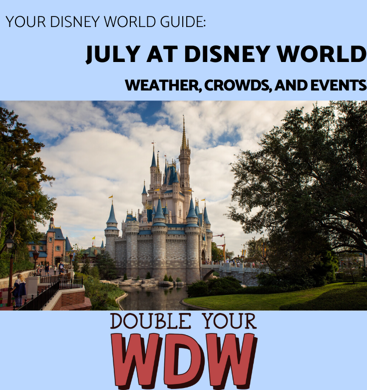 July at Disney World