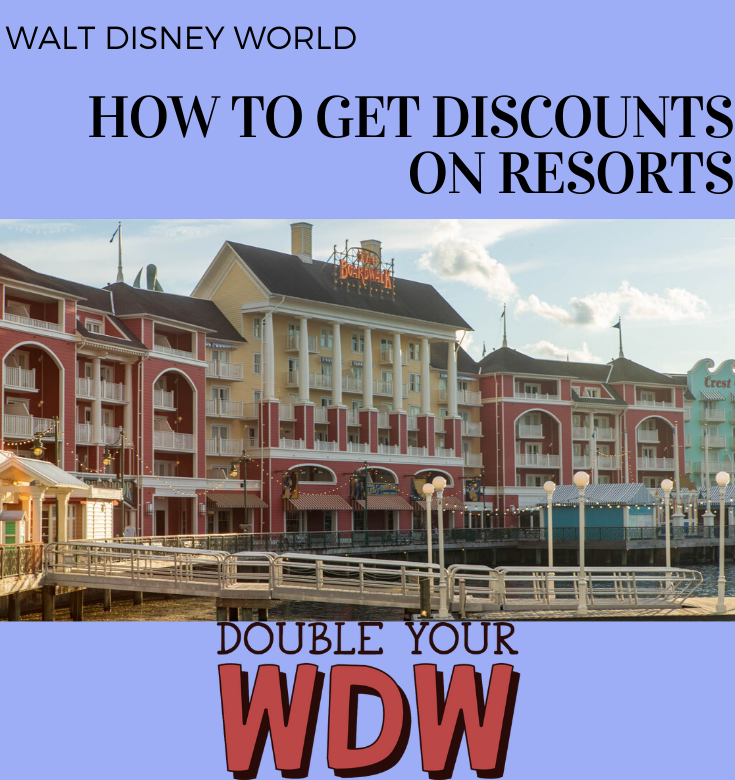 How to get discounts on disney world resorts