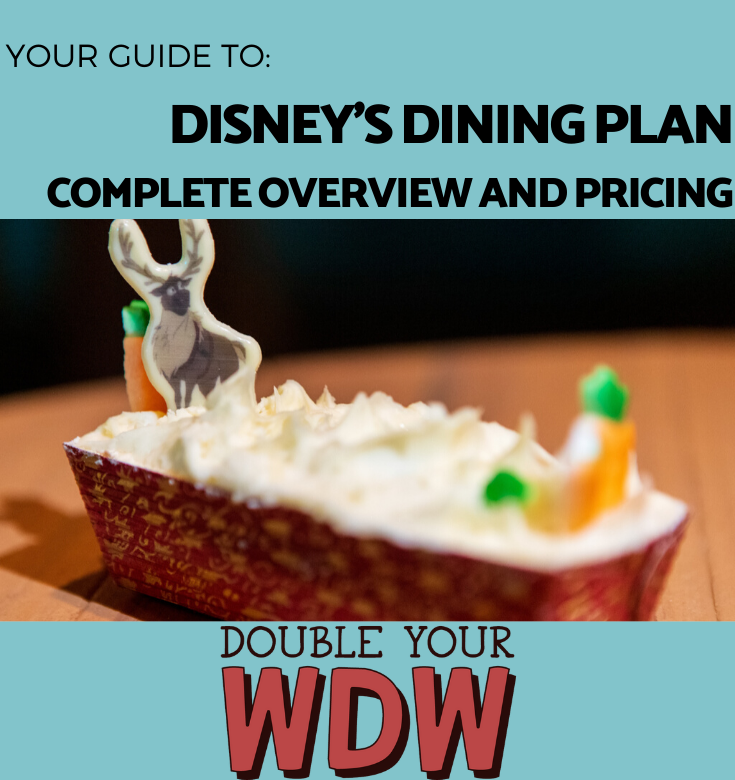 Disney Dining plan overview