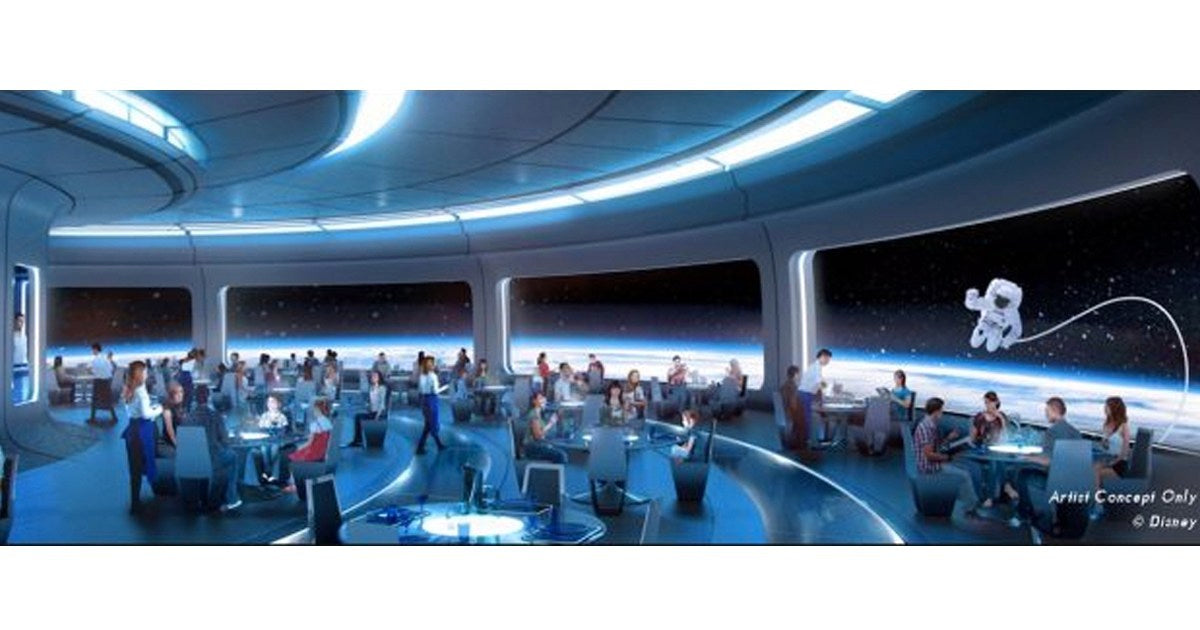 Space 220 restaurant Epcot