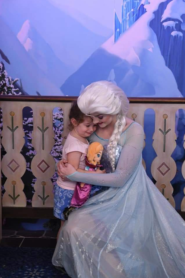 Mark Huber's Family meeting elsa