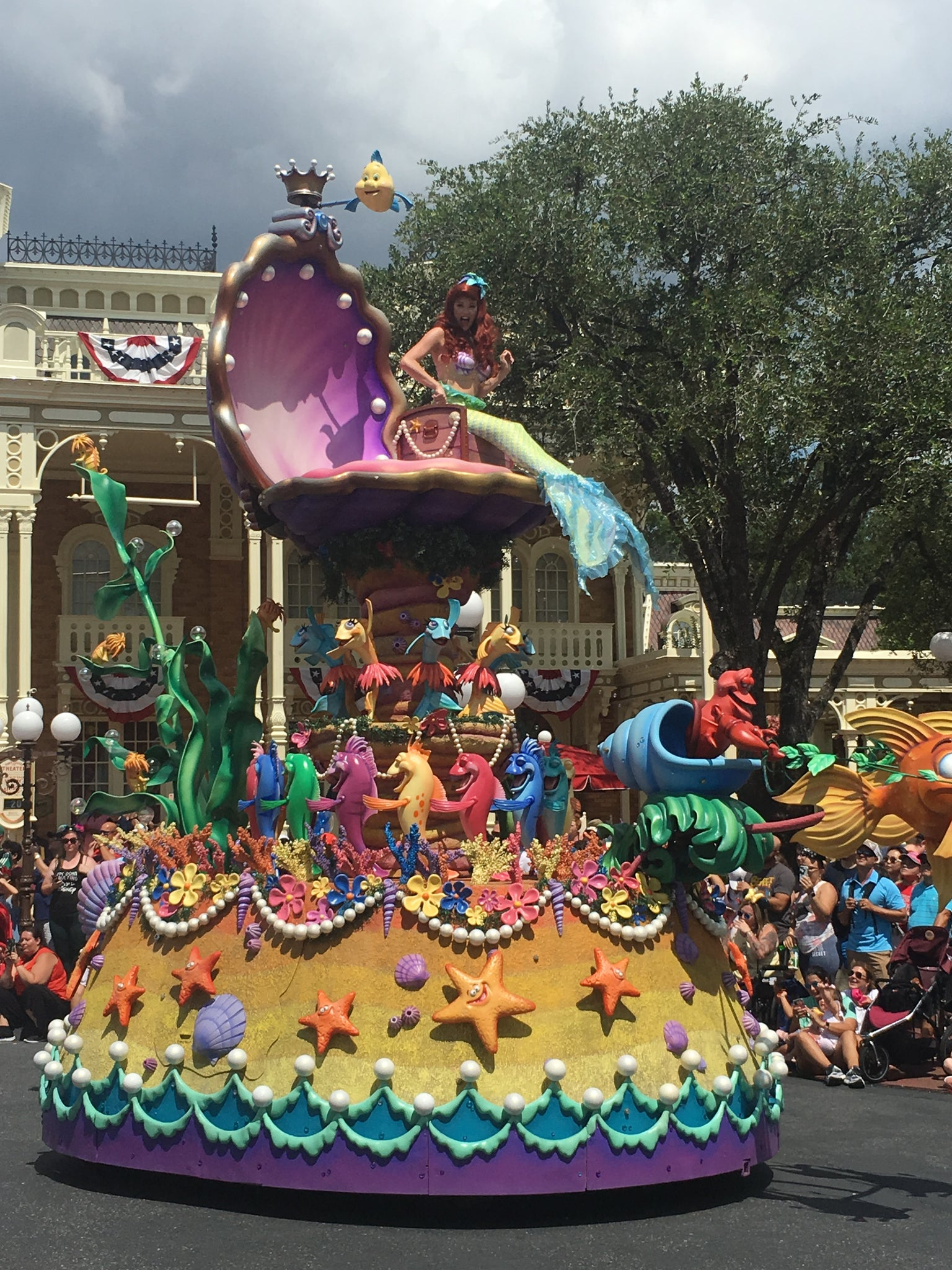 ariel festival of fantasy parade