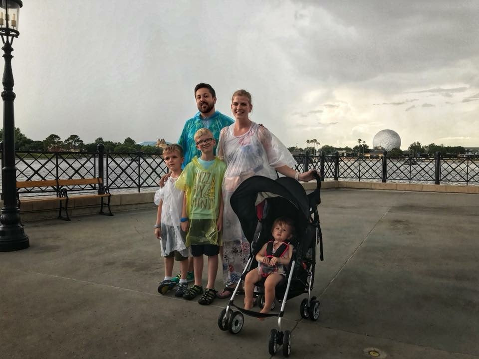 Disney World umbrella stroller