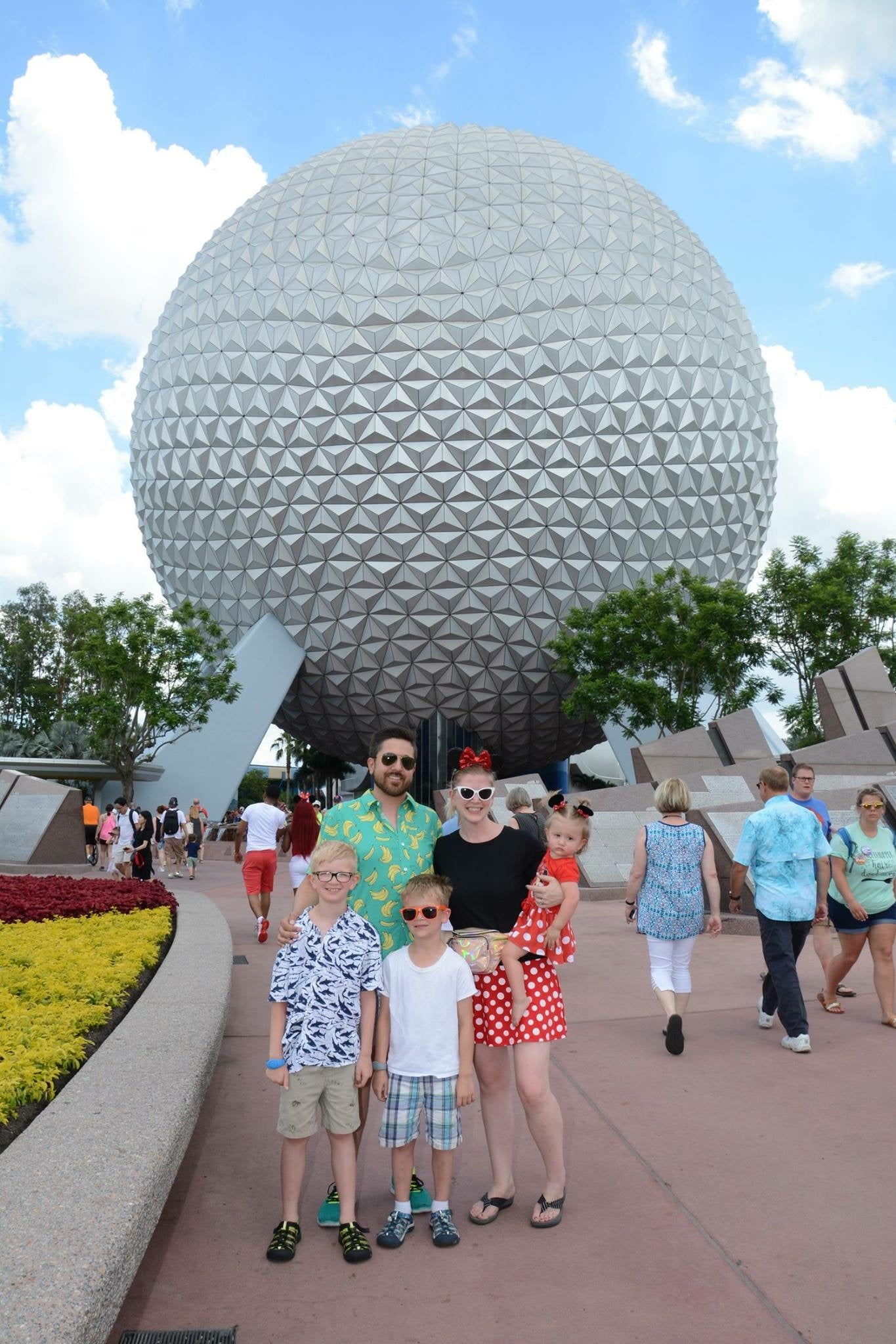Epcot with small children