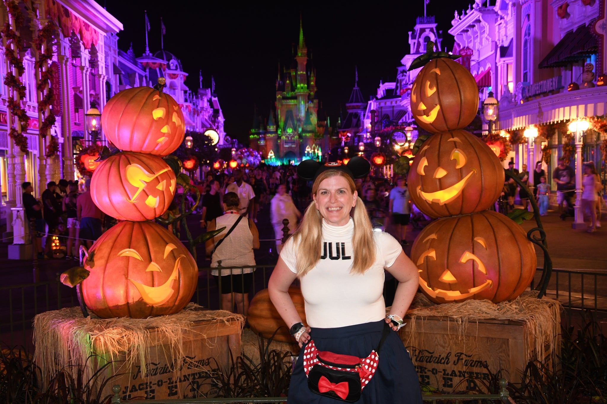 Mickey's Not so scary Halloween Party Photopass