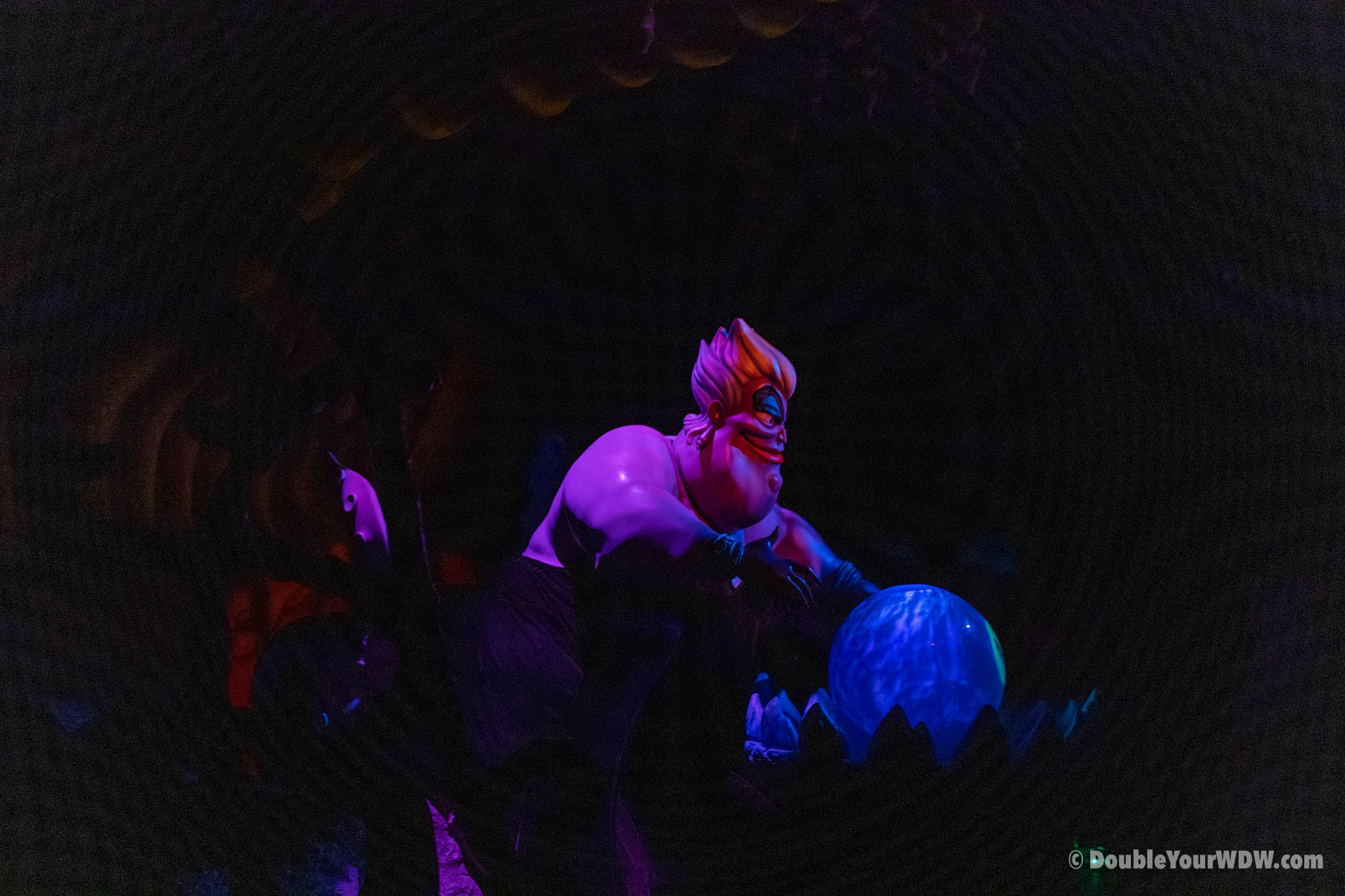 Ursula at the Voyage of the little mermaid
