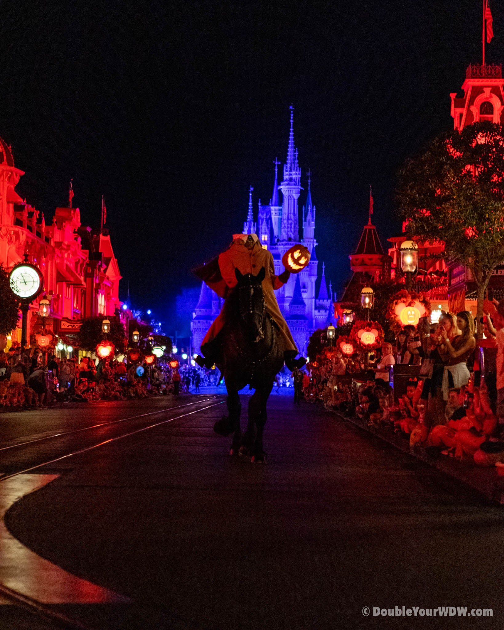 Boo to you parade headless horseman