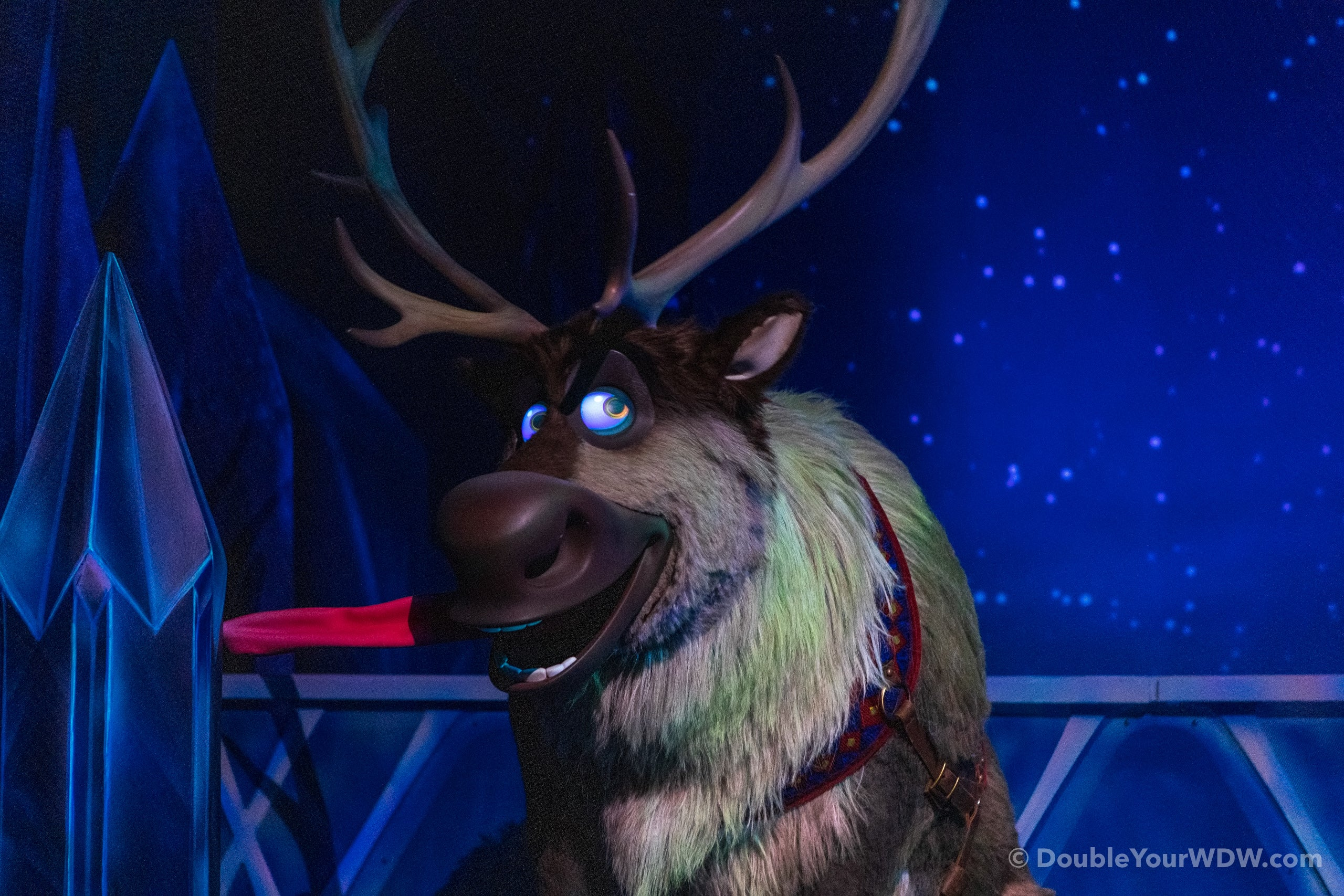 Epcot Frozen Ever After Sven
