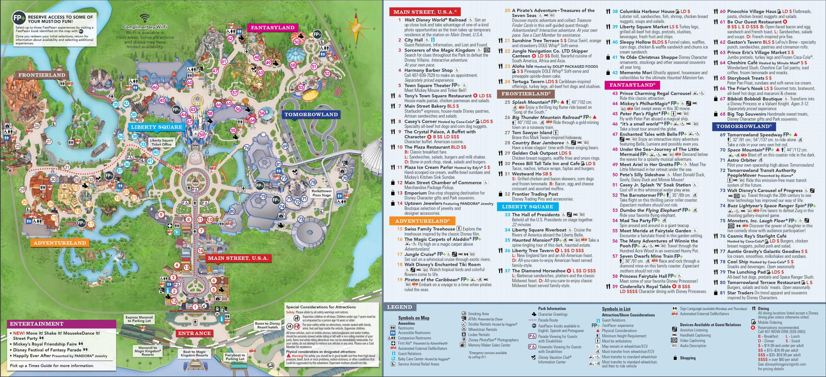 Magic Kingdom Downloadable Map