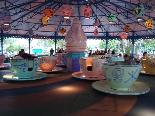 Mad Tea Party Tea Cups
