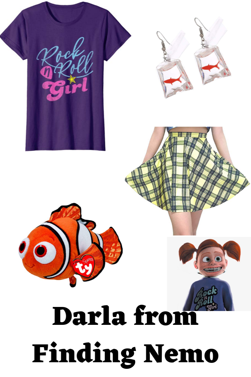 Darla from Finding Nemo costume