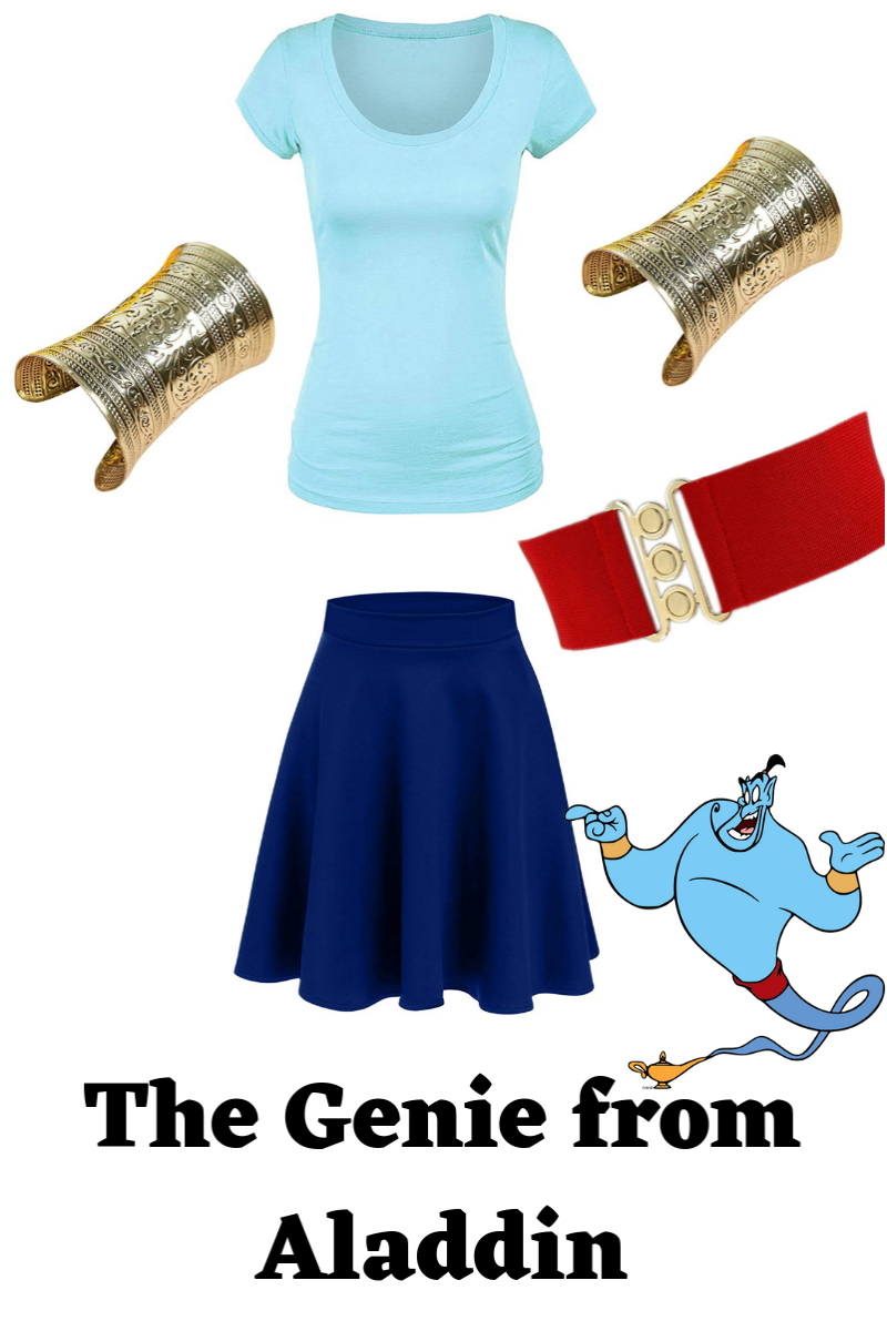 Genie from Aladdin costume