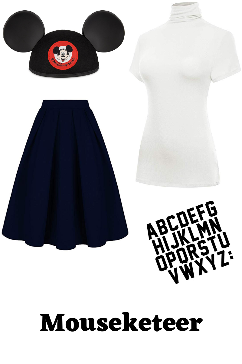 Mouseketeer costume