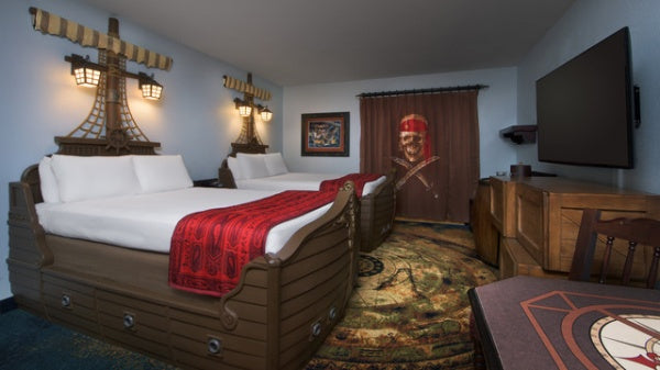 Pirate themed rooms