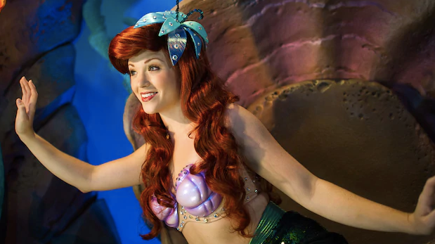 ariel's grotta at Magic Kingdom