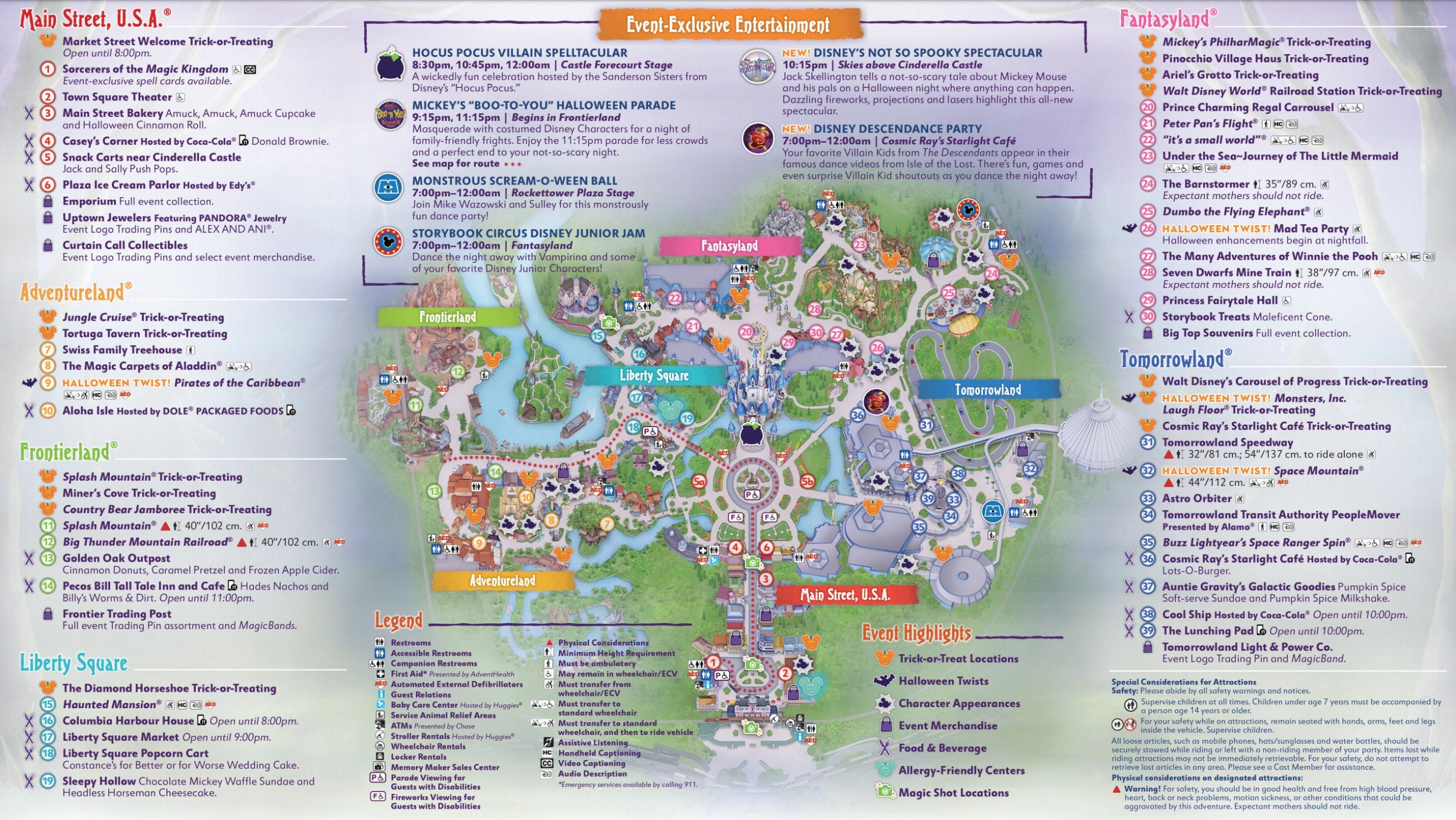 Mickey's Not So Scary Halloween Party Downloadable Map