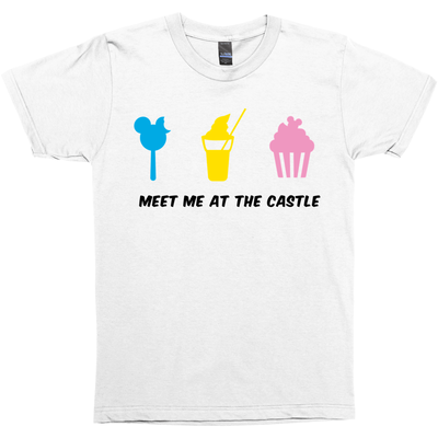 'Meet Me at The Castle' Unisex Short Sleeve T-Shirt