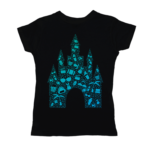 'Castle Bound' Ladies Short Sleeve T-Shirt