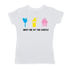'Meet Me at The Castle' Ladies Short Sleeve T-Shirt