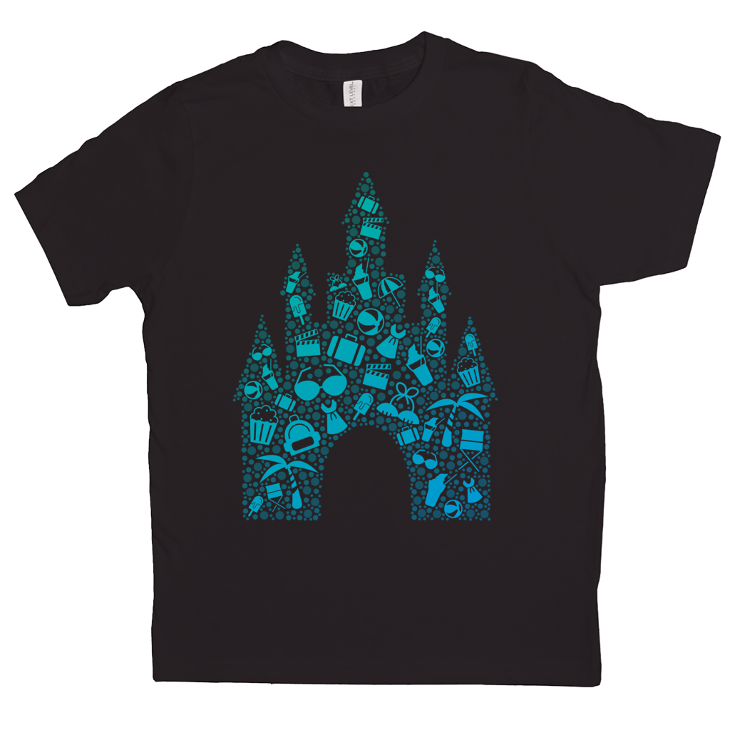 'Castle Bound' Kids Short Sleeve T-Shirt