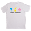 'Meet Me at The Castle' Kids Short Sleeve T-Shirt