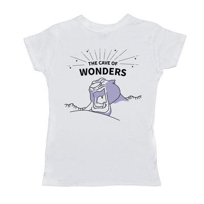 Cave of Wonders Ladies Short Sleeve T-Shirt