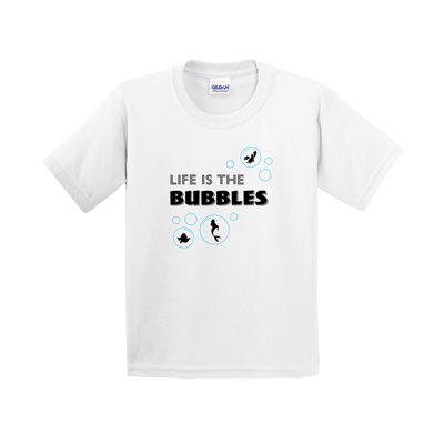 Life is the Bubbles Kids Short Sleeve T-Shirt