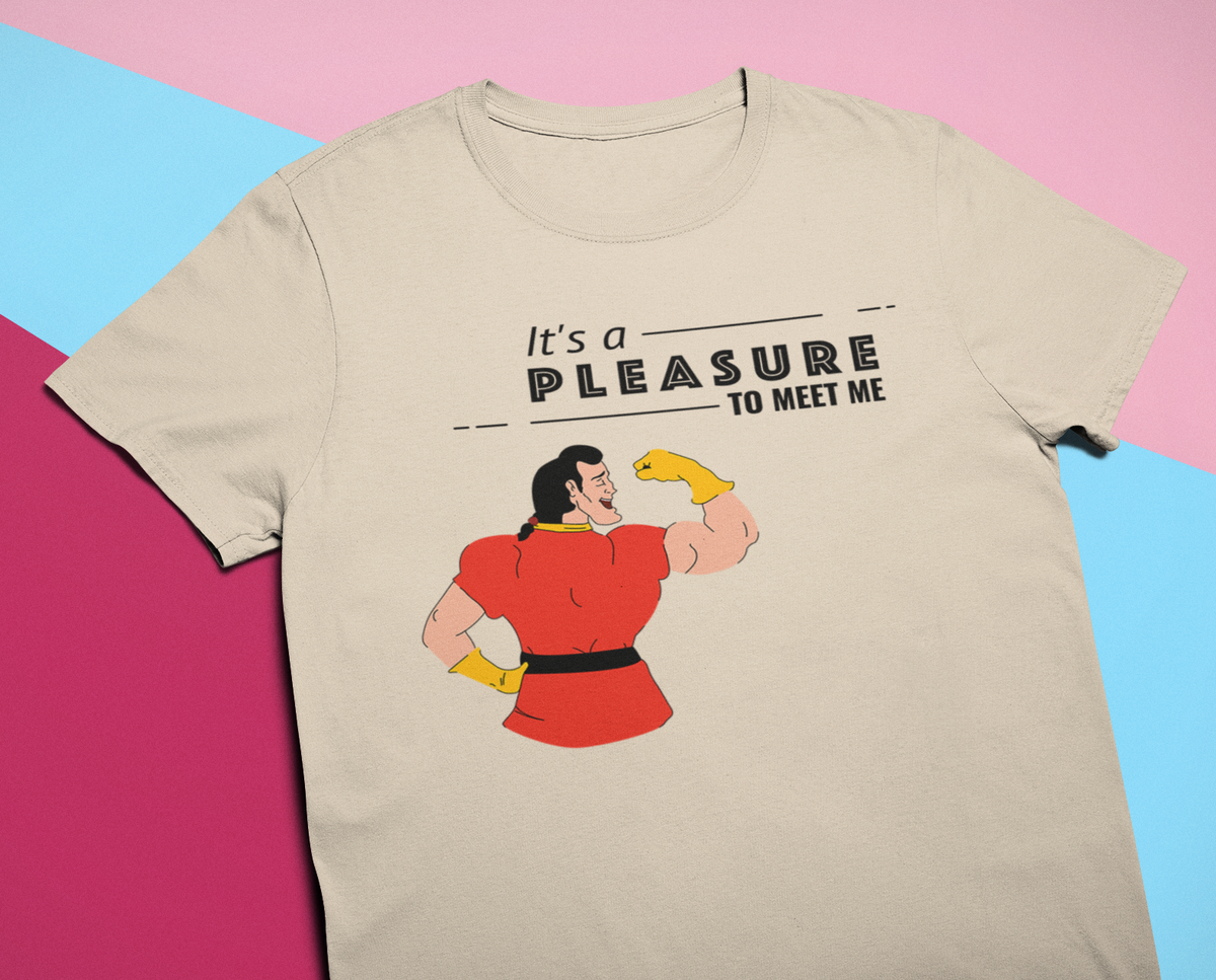 It's a Pleasure to Meet Me Unisex Short Sleeve T-Shirt