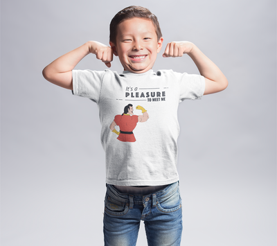 It's a Pleasure to Meet Me Kids Short Sleeve T-Shirt