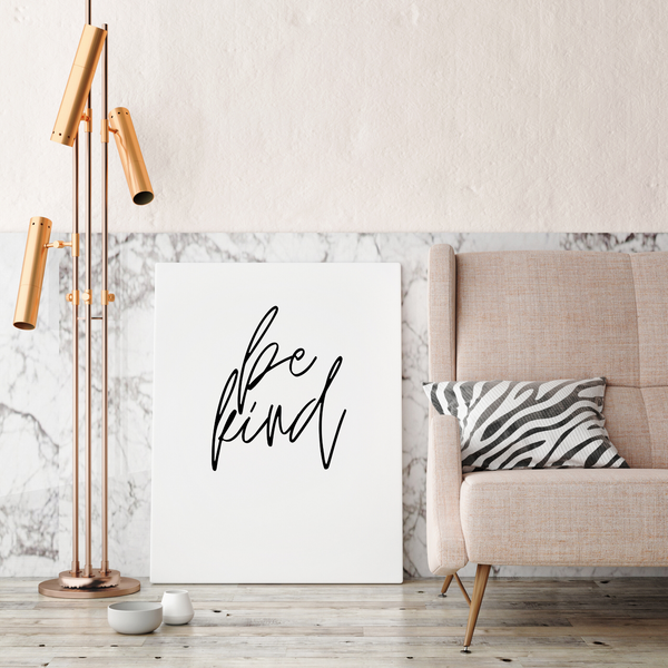 Be Kind • Canvas