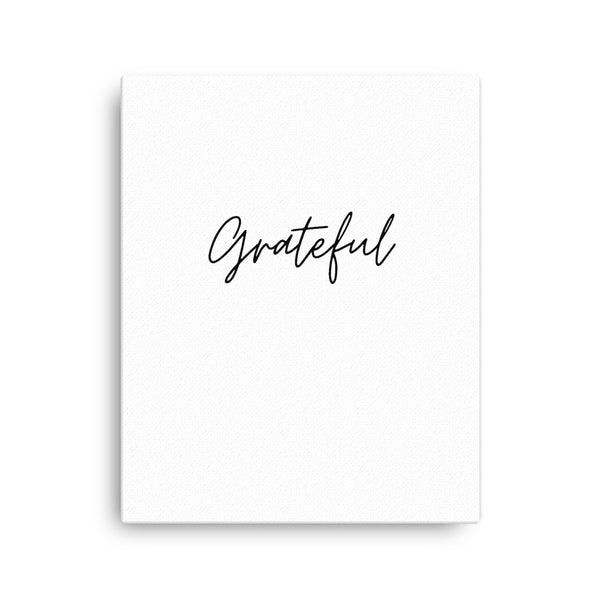 Grateful • Canvas