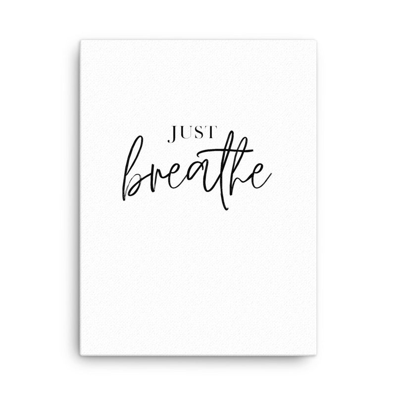 Just Breathe II • Canvas