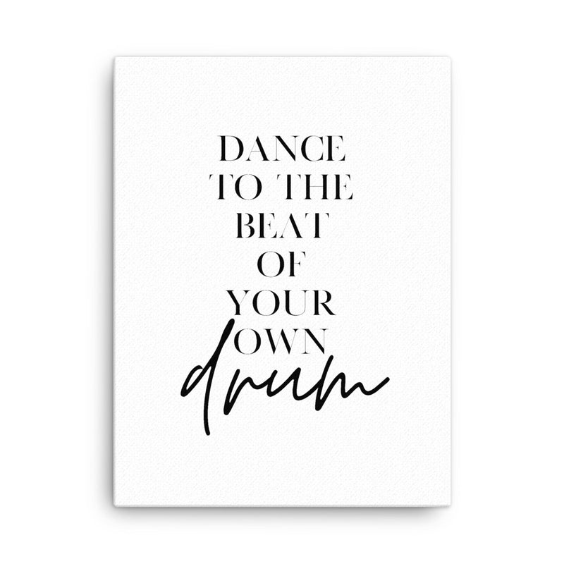 Dance to the Beat • Canvas