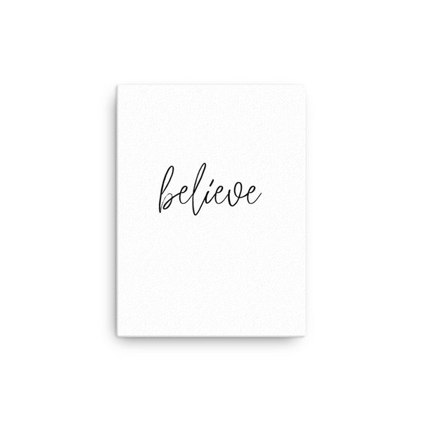 Believe • Canvas