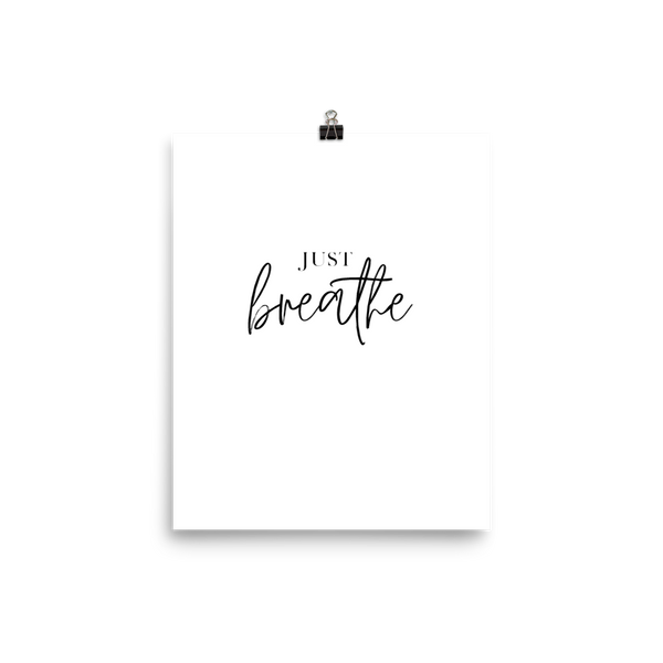 Just Breathe • Poster