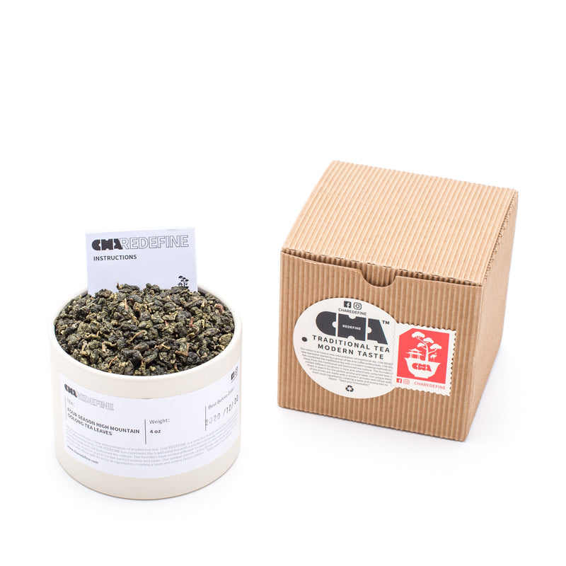Four Season High Mountain Oolong Tea Leaves