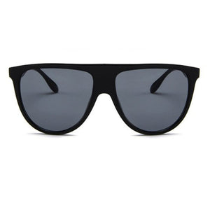 YAYO - BLACK festival OVER SIZED RETRO SHADES Fucsun