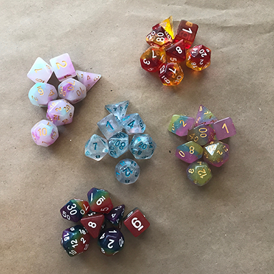 Now Selling Gorgeous Dice!