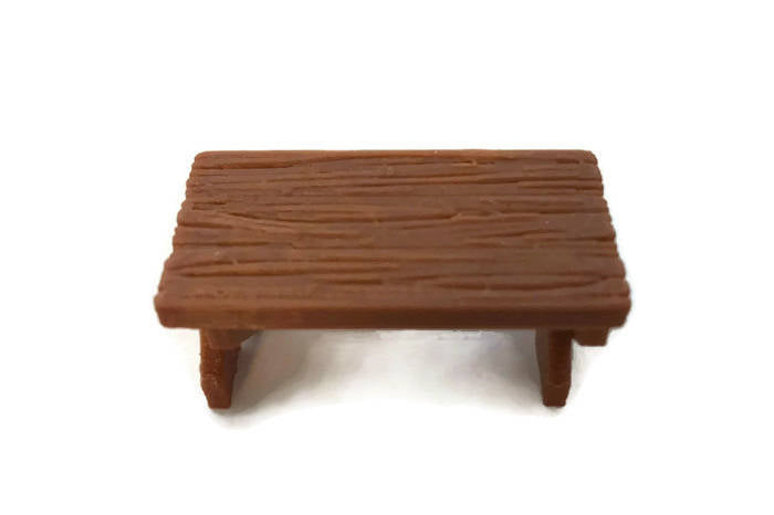 28mm Miniature Table for D&D Dungeon Furniture - Miniature Town