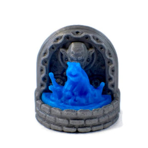Water Fountain Monster Set - Miniature Town
