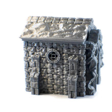 Load image into Gallery viewer, 6-Piece DnD Mausoleum Set for 28mm Graveyard Scenery - Miniature Town