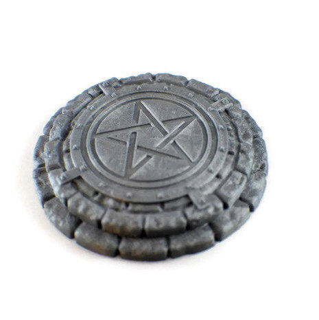 Summoning Circle for 28mm D&D Dungeon Terrain | RPG Terrain | Dungeons and Dragons DnD Miniatures