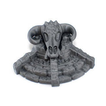 Demon Pedestal - 28mm Dungeon Terrain Scatter - Miniature Town
