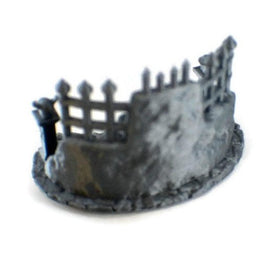 Occult Shrine - 28mm Miniature Cultist Temple Props - Miniature Town