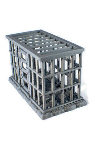 D&D Dice Jail - 28mm Miniature Prison Cell | 28mm Scale Dungeon Terrain | Dnd Terrain | Dungeons and Dragons Terrain | DnD Gift