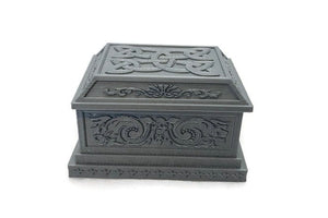 Miniature Sarcophagus or Tomb for 28mm Graveyard Scenery - Miniature Town